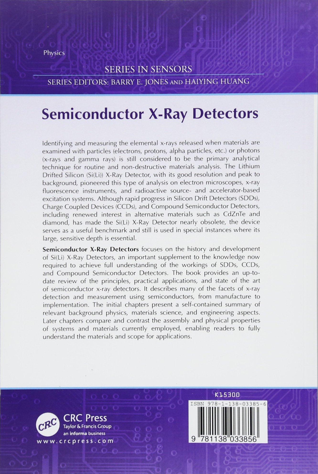 Semiconductor X-Ray Detectors (Series in Sensors): Amazon.es: B. G. Lowe, R. A. Sareen: Libros en idiomas extranjeros