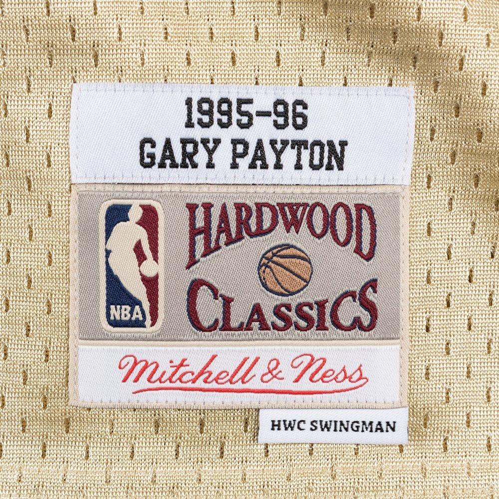 1562cbd1642 Amazon.com   Mitchell   Ness Gary Payton Seattle Supersonics NBA Swingman  HWC Jersey - Gold   Sports   Outdoors