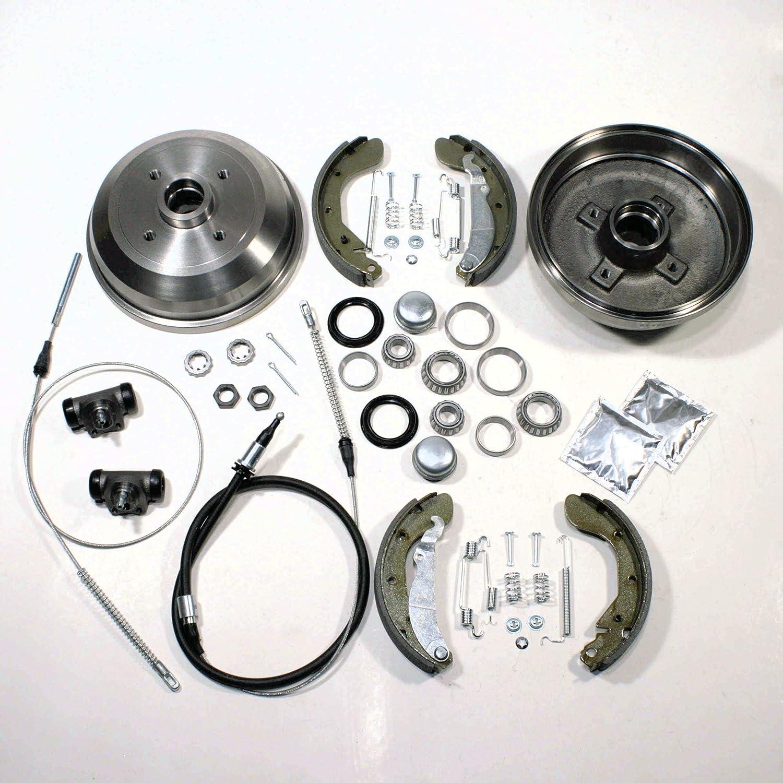 Bremstrommel//Bremsen Set 2 x Handbremsseil hinten