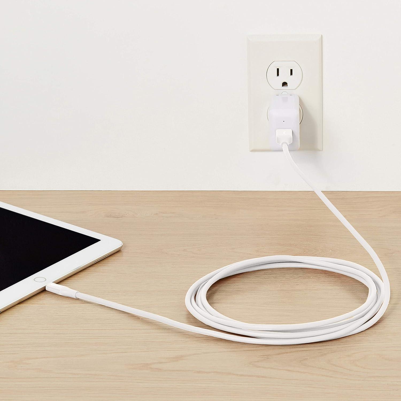 10 cm Certificato Apple MFi Confezione da 1 Cavo compatibile da USB A a Lightning Blu Basics