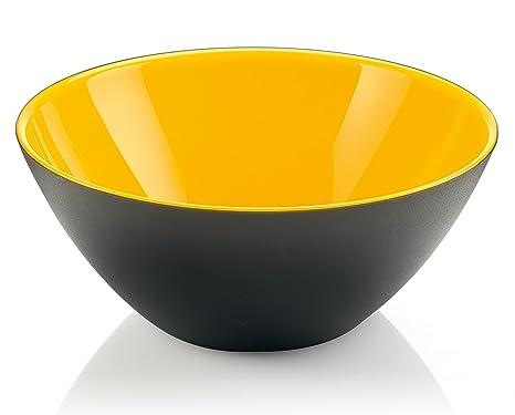 Guzzini My Fusion Large Bowl, BPA-Free Shatter-Resistant Acrylic, 9-3/4