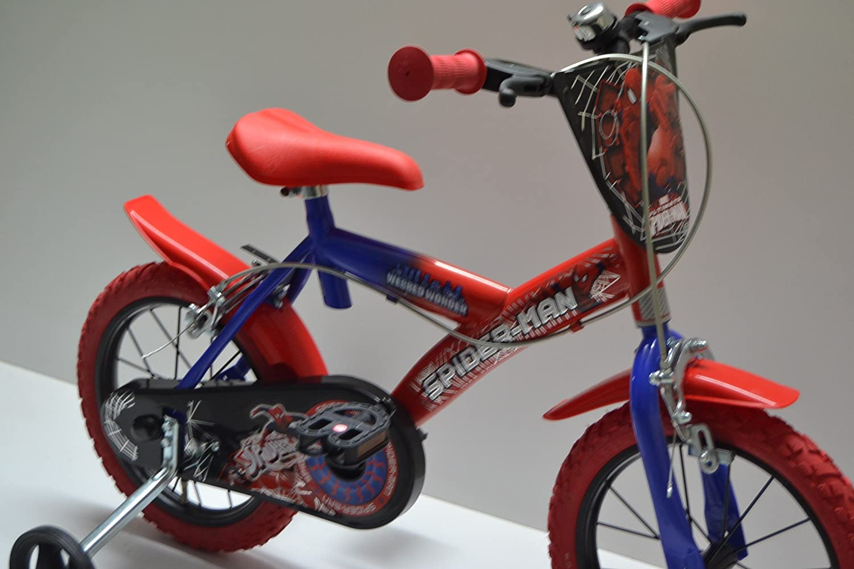 Cicli Ferrareis Bici Bimbo 14 Bici Bambino 14 bicicletta Bimbo 14 Dino Spiderman