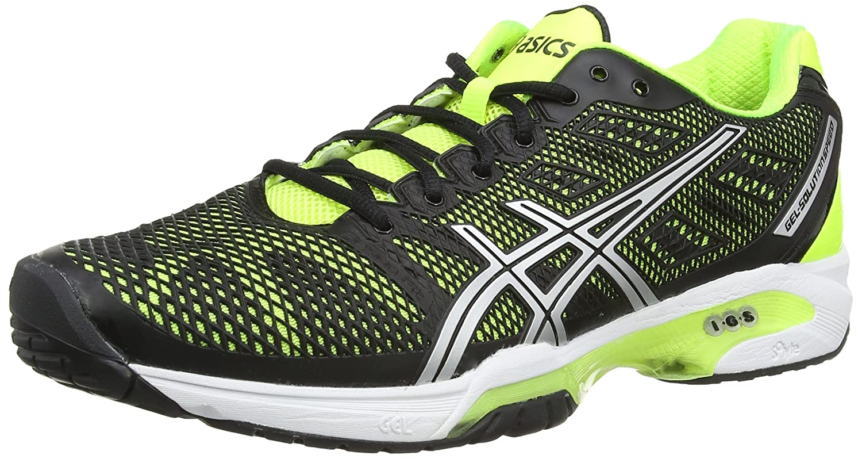 quality design e30bb 8c715 ASICS Gel-Solution Speed 2, Tennis Hommes, Noir (Onyx Silver Atomic Blue  9993), 42 EU  Amazon.fr  Chaussures et Sacs