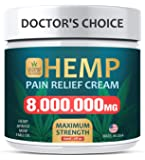 Pain Relief Cream - Maximum Strength 8,000,000 MG - Fast Relief from Pain, Ache, Arthritis & Inflammation - Made & 3rd…