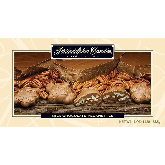 Philadelphia Candies - Clúster de nueces de caramelo con ...
