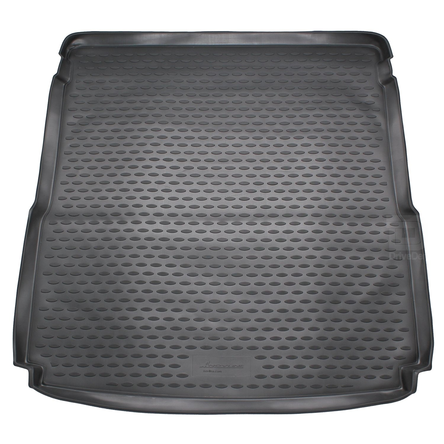Novline MAT057 Custom Tailored Fit Black Rubber Boot Liner Tray Mat