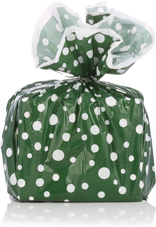 Designerliners - Bolsas de regalo con lazos metálicos plateados, 8 ...