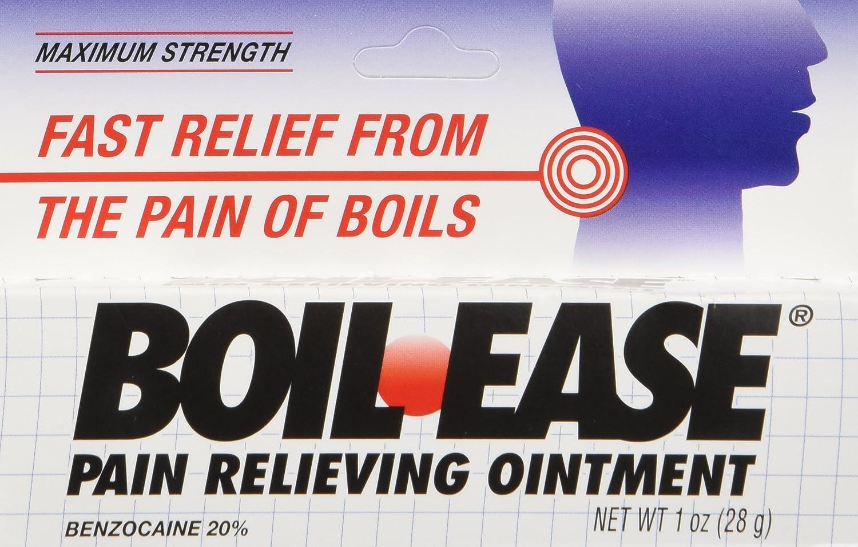 Boil ease para curar forunculos