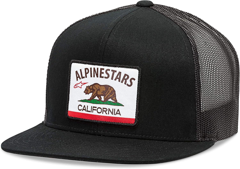 Alpinestars Cali Trucker Gorra de béisbol, Negro (Black 10), Talla ...