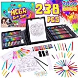 Dinonano School Art Supplies for Kids - Painting and Drawing Kit for Girls Boys Ages 3 4 5 6 7 8 9 10 11 12 Years Old…