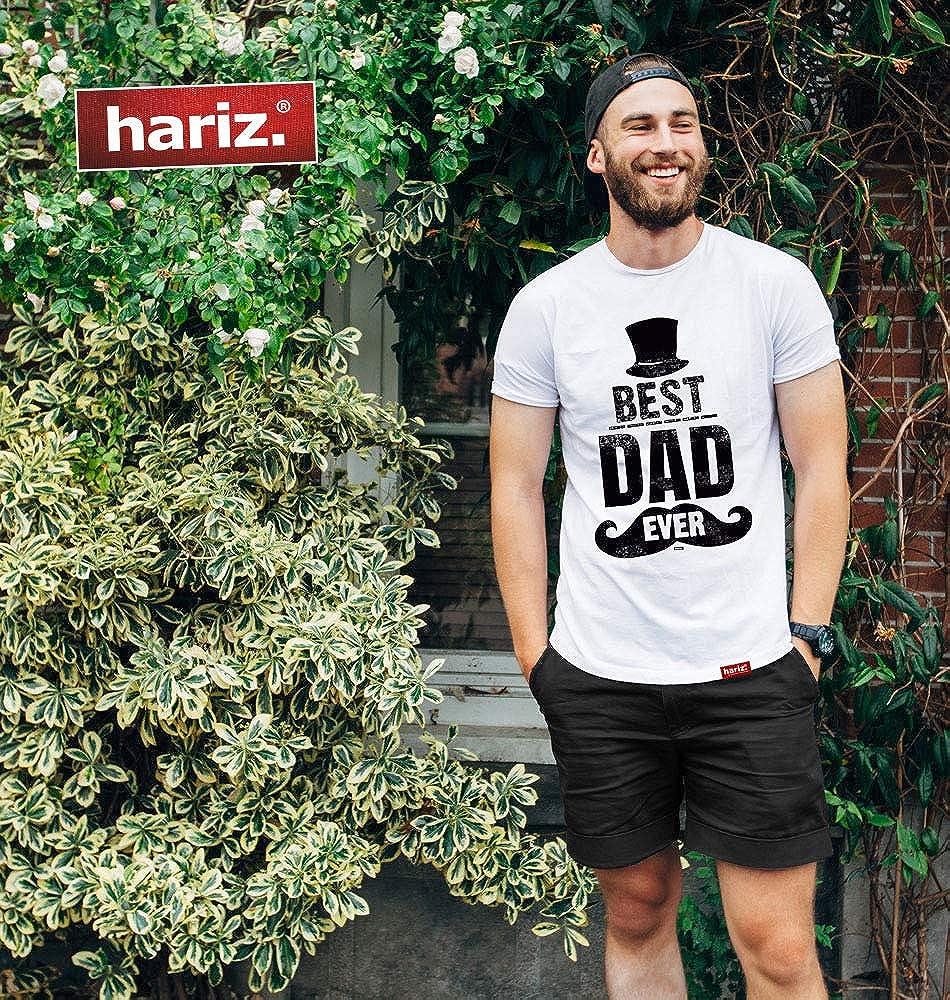 HARIZ  Herren T-Shirt Dad Ever 2 M/änner Vater Geburtstag Geschenkideen Inkl Geschenk Karte
