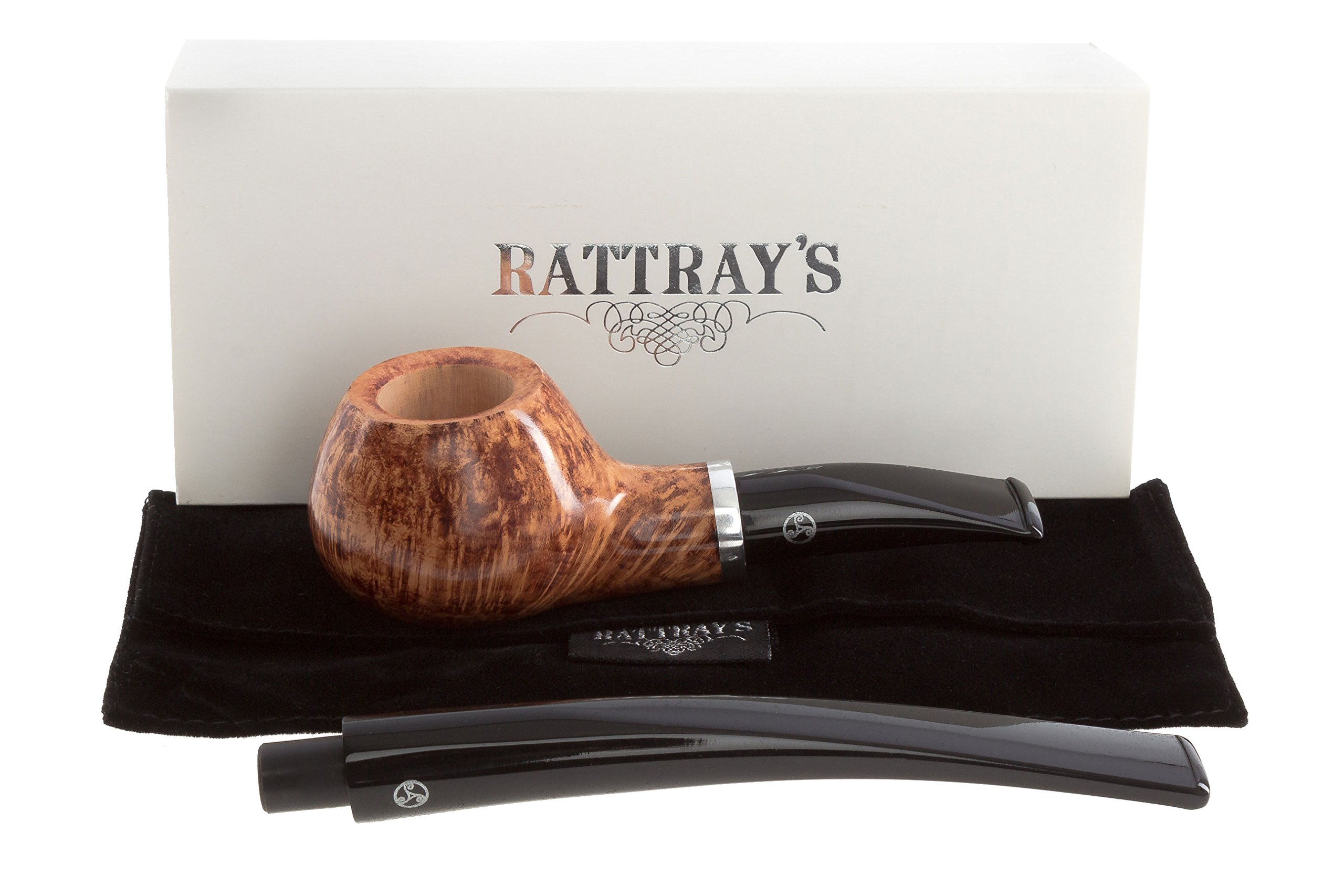 Rattray's Butcher's Boy 22 Tobacco Pipe - Natural by Rattray's (Image #7)