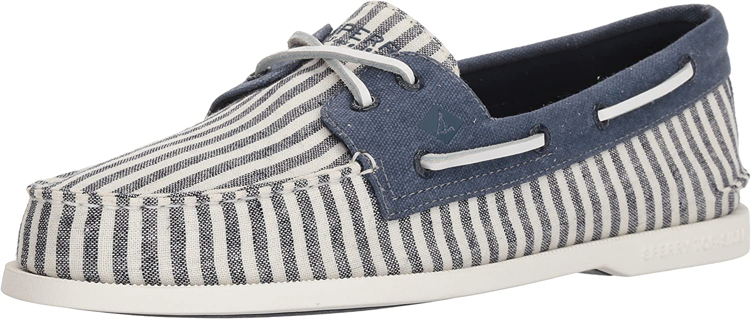 Sperry Mens A//O 2-Eye Washed Boat Shoe