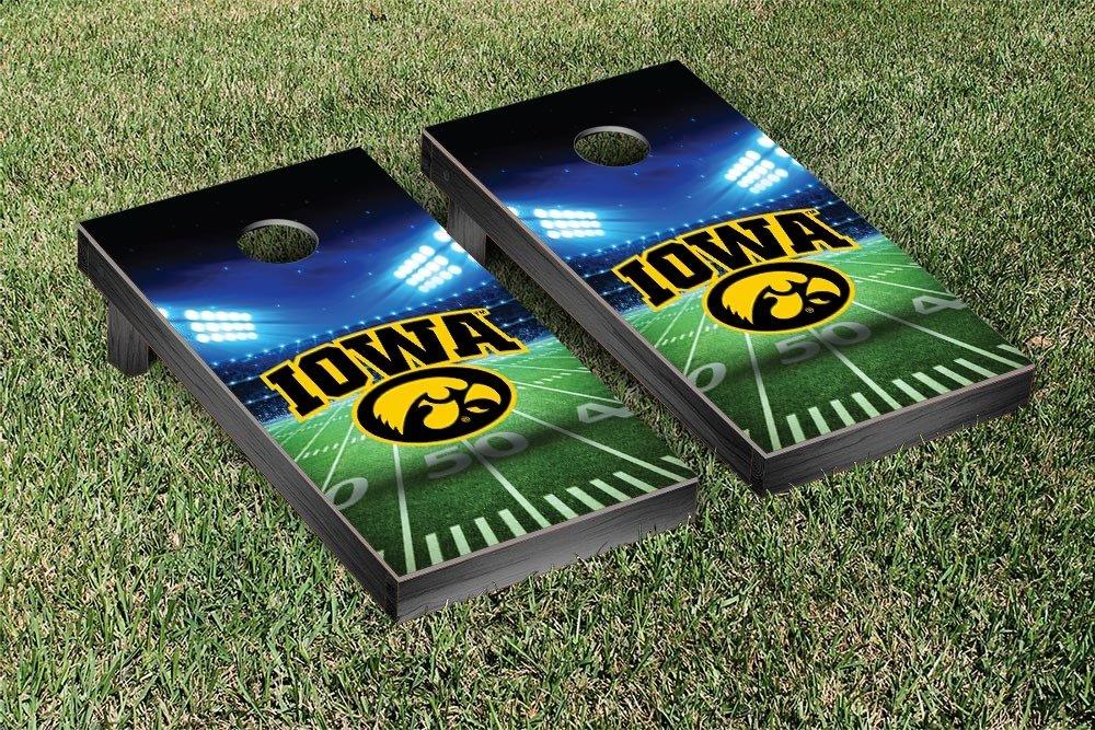Iowa Hawkeyes Regulation Cornhole Game Set Stadium Version