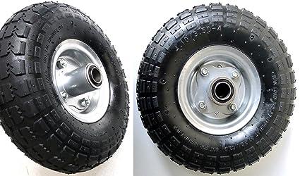 S+S – Neumáticos de aire, 2 unidades, llanta de acero 4,