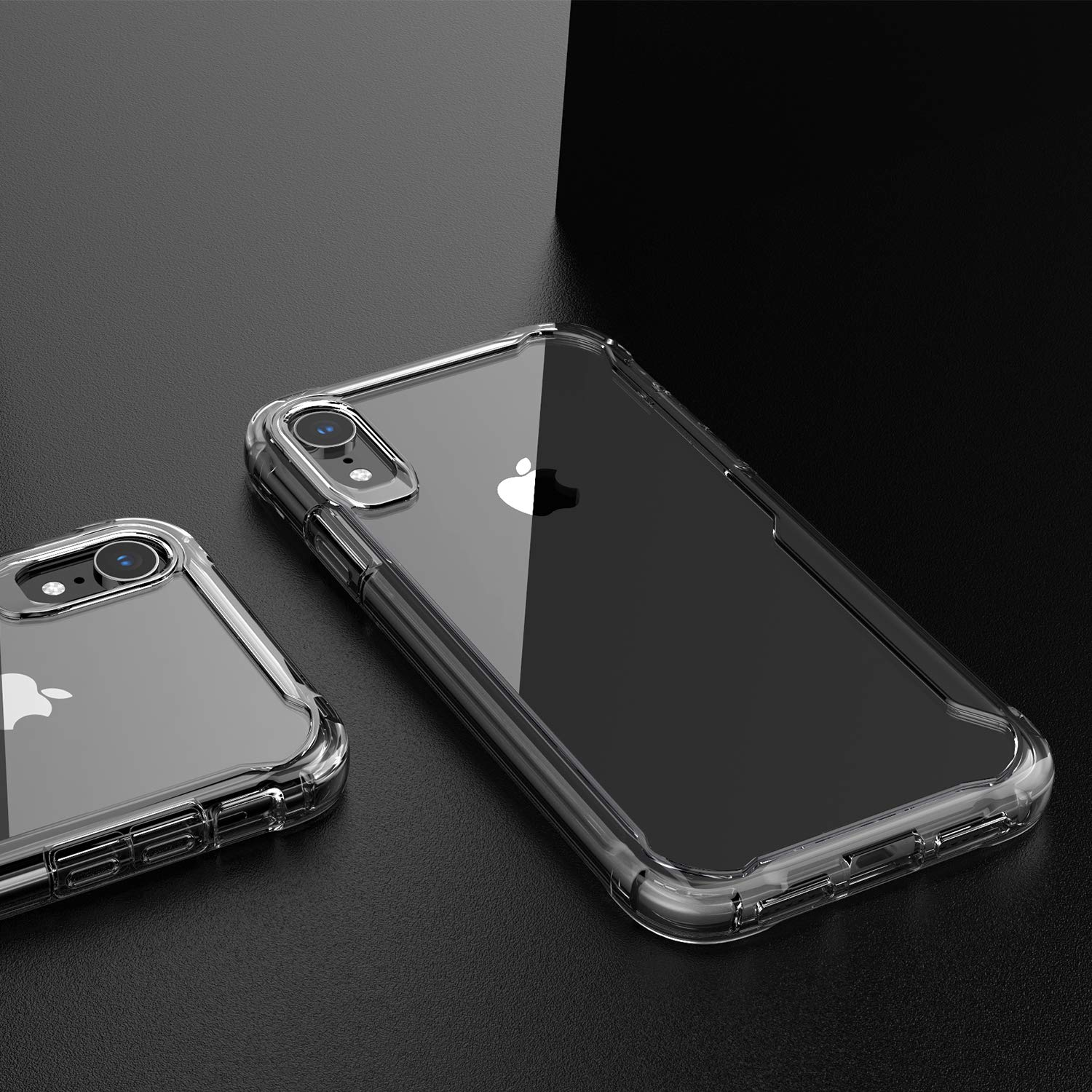 EFFENX iPhone XR Case - Clear Cover iPhone XR Shockproof Bumper with Air Cushion Protective case Soft and Slim (Clear Color) by EFFENX (Image #2)