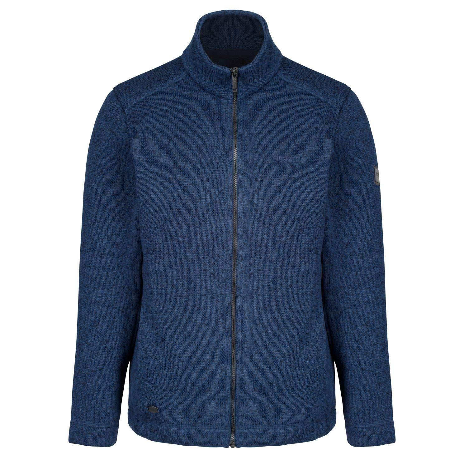 Regatta Herren Branton Full Zip Knit Look Fleece
