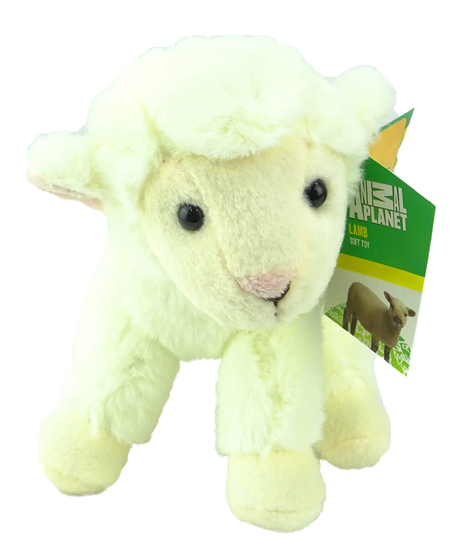 Animal Planet Animales de granja - 17cm Lamb suave peluche de juguete: Amazon.es: Juguetes y juegos