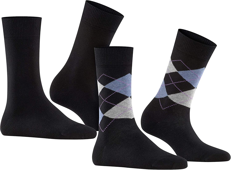 36-41 BURLINGTON Damen Socken Argyle Lace - Sommerstrumpf aus durchscheinendem Material und feiner Spitze 1 Paar Einheitsgr/ö/ße Farben Versch