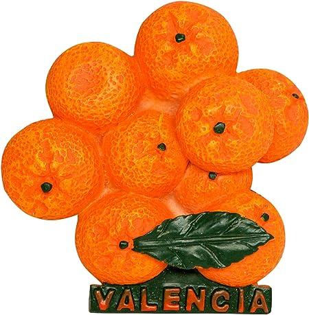Naranjas de Valencia, Souvenir de España 3D Resina Imán de Nevera ...