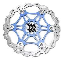 Hamimelon 160 mm 180 mm fiets schijfrem remschijf MTB ombouwkit fietsremsystemen rood blauw