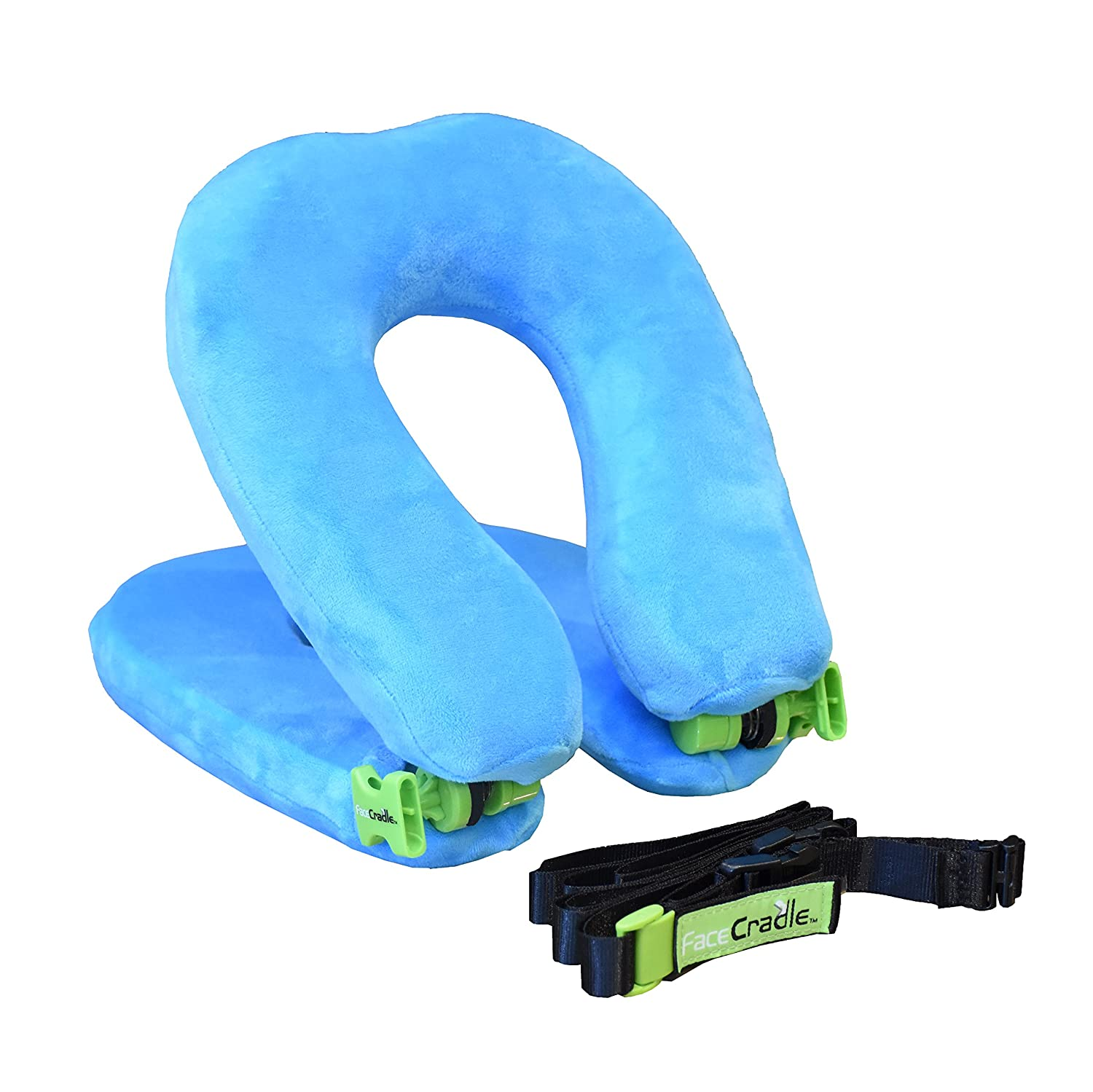 FaceCradle Latest Model, 5 Modes plus, Multi Function, Better Neck Support,Sleep Forward for travel on plane, car, bus, train or for nap on any table. Hairy Turtle Ptd. Ltd. FC8-B-S