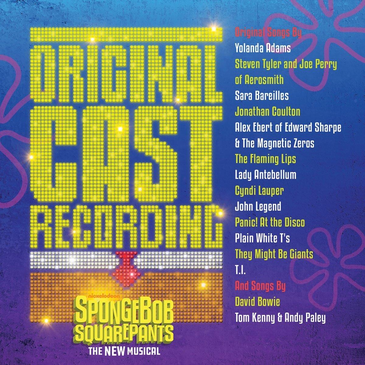 SpongeBob SquarePants, The New Musical (Original Cast Recording) by Masterworks