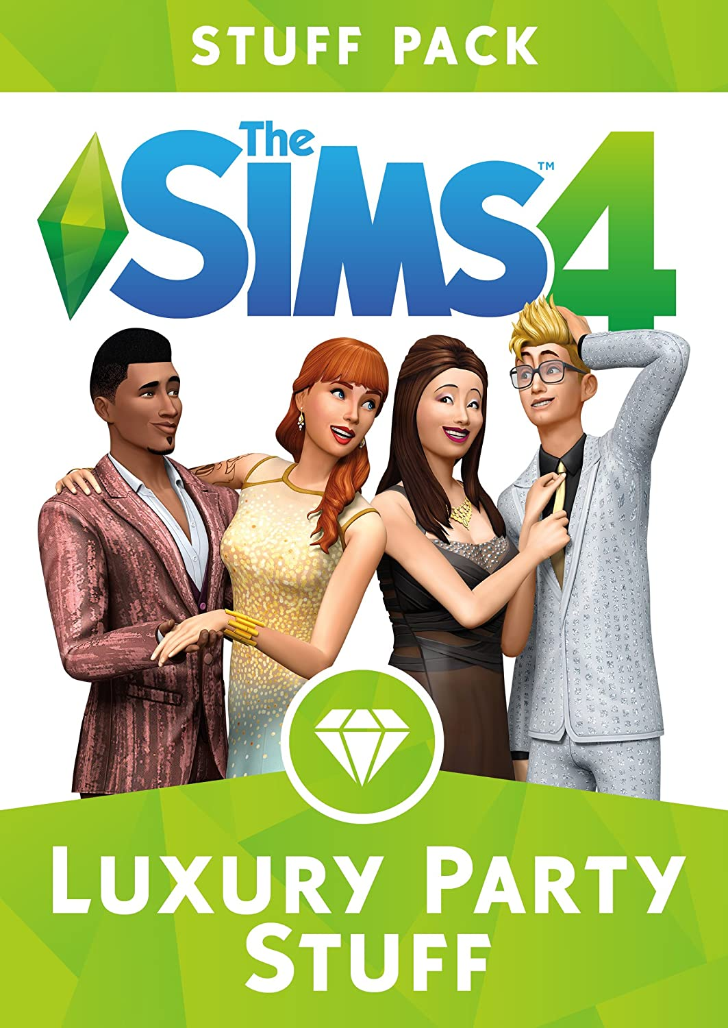 The Sims 4 Luxury Party Stuff [Online Game Code] by Electronic Arts