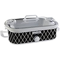 Crock-Pot SCCPCCM350-CR Casserole Crock Slow Cooker, 3.5-Quart