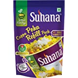 Suhana Ready-to-eat Cuppa Poha Refill Pack 80g Instant Breakfast (Pack of 12)