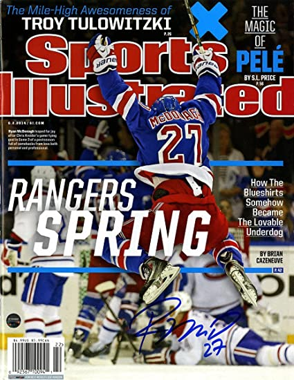 Image Unavailable. Image not available for. Color  Ryan McDonagh Signed  Sports ... 4de4b04fd