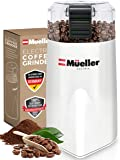 Mueller Austria HyperGrind Precision Electric Spice/Coffee Grinder Mill with Large Grinding Capacity and HD Motor also…