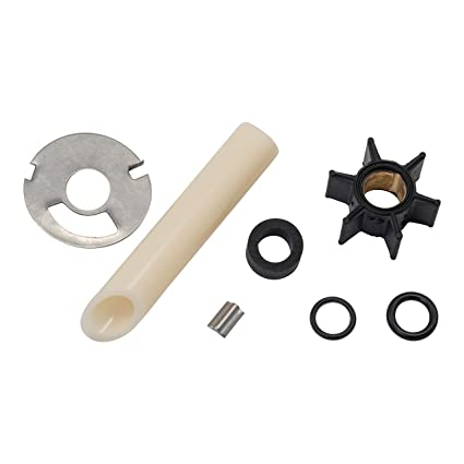 Water Pump Impeller Kit for Mercury 4 4.5 6 7.5 9.8 hp .456 ID 47-89981 18-3239