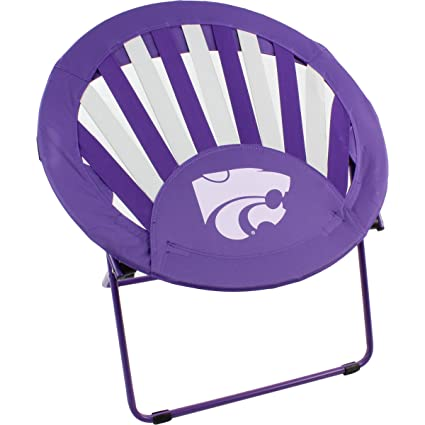 College Covers Kansas State Wildcats NCAA Rising Sun Bungee Chair
