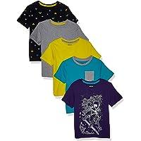 Spotted Zebra Camisetas de Manga Corta Niños
