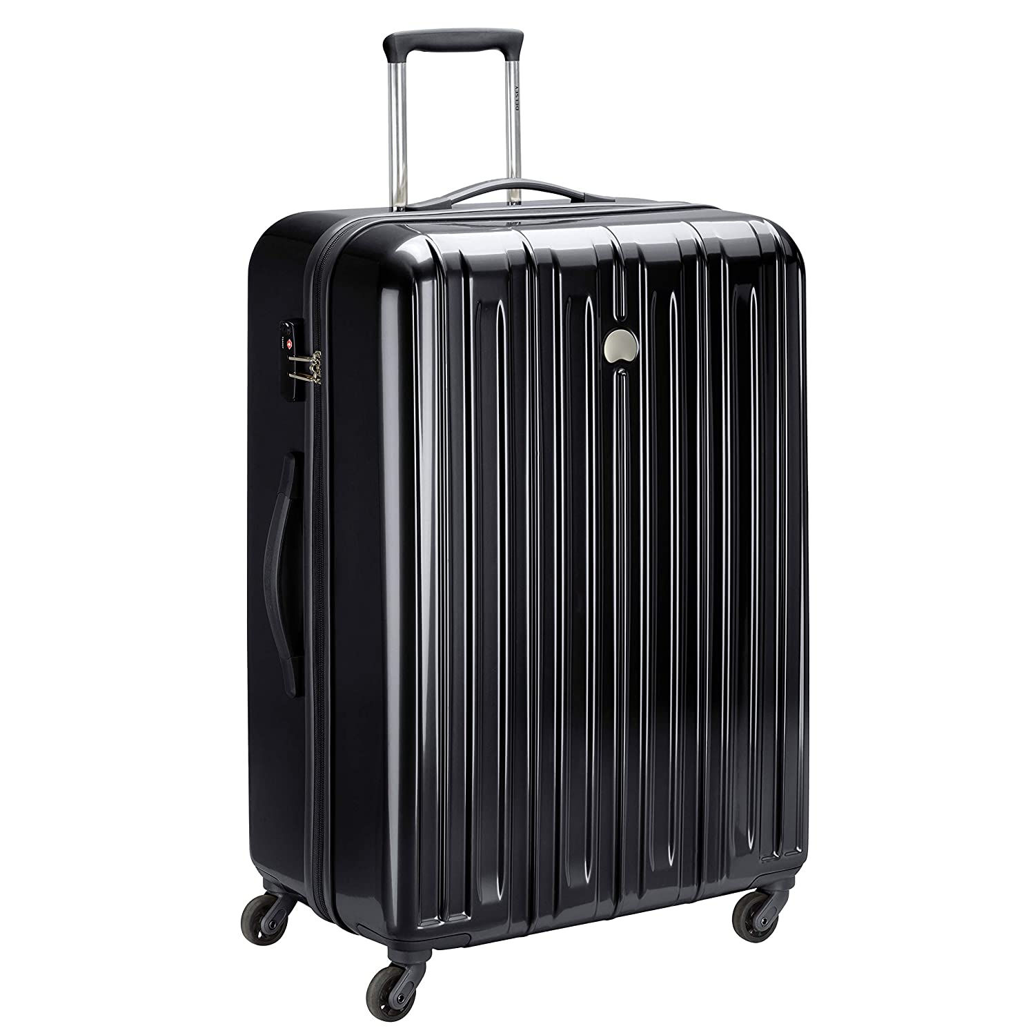 Delsey ABS 67 cms Black Hardsided Carry On (Air Longitude 2)