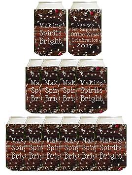 Personalizado Navidad lámpara puede tu texto pantalla para bebida (puede refrigeradores Coolies: Amazon.es: Hogar