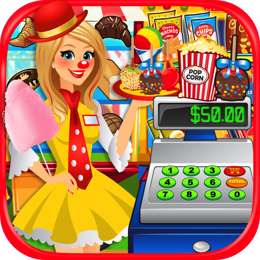 Fair Food Supermarket Simulator - Kids Prize Claw, Dessert Food & Carnival Games FREE