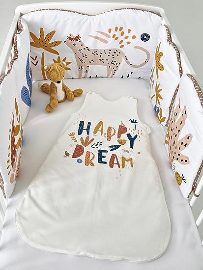 Vertbaudet saco especial verano Happy Dream * blanco marfil Talla:107