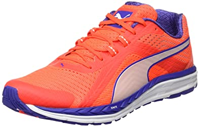 Puma Speed 500 Ignite, Chaussures de Running Entrainement Femme, Rouge (Red Blast/Royal Blue/White), 38.5 EU