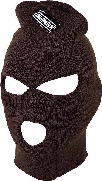 3 Hole Face Mask Long Neck Winter Ski Hat Wear Stylish Warm Comfortable