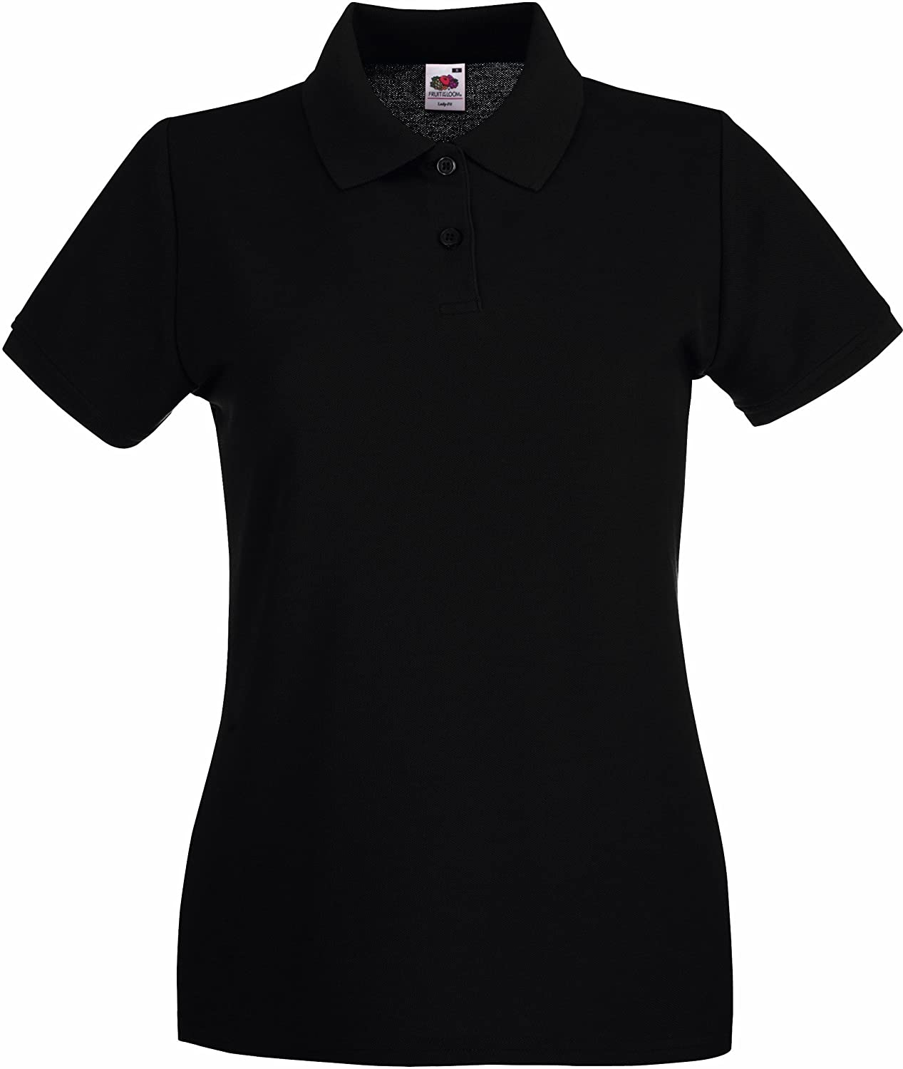 Lady-Fit Premium Poloshirt S / 10, Black