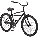 Schwinn Mikko & Huron Adult Beach Cruiser Bike, Featuring Steel Step-Over or Step Through Frames, 1, 3, 7-Speed Drivetrains,