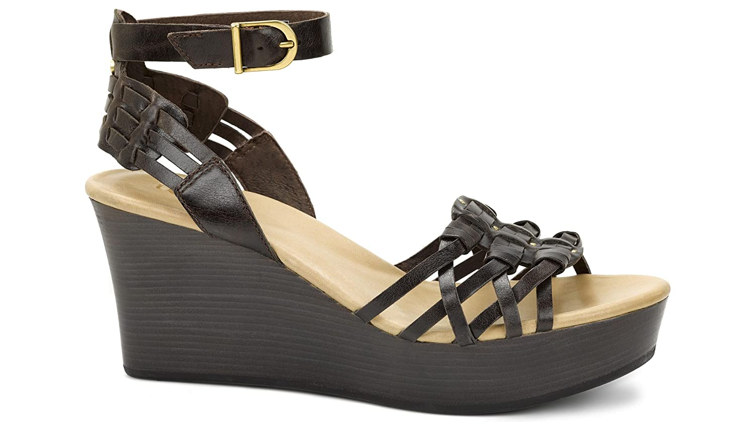 UGG Women's Farrah Ankle Strap Wedge Sandal
