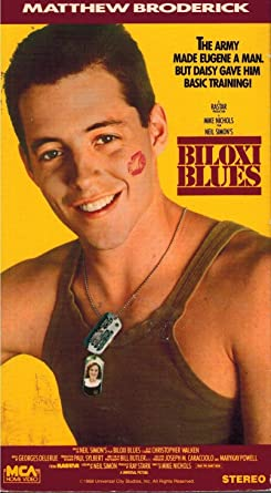 Amazon Com Biloxi Blues Vhs Matthew Broderick Christopher
