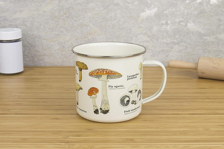 7f36fd657ef Amazon.com | Gift Republic GR270058 Mushroom Enamel Mug, Multi: Coffee Cups  & Mugs