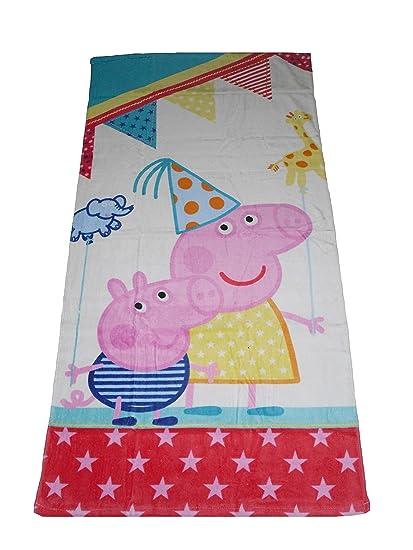 Toalla de baño toalla de playa oficial Peppa Pig