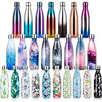 Vacuüm Geïsoleerde Roestvrijstalen Drinkfles, BPA-vrije Waterfles Lekvrij 350ml/500ml/750ml Thermosfles Dubbelwandig…