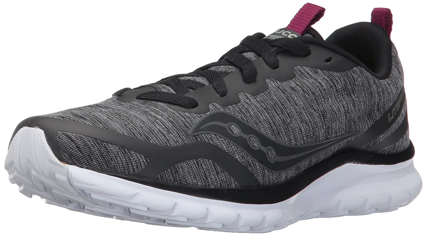 Saucony Women's Feel Sneaker B01N6JHPL4 8 B(M) US|Black