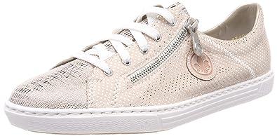 37eb7b760e2525 Rieker Damen L0943 Sneaker  Amazon.de  Schuhe   Handtaschen
